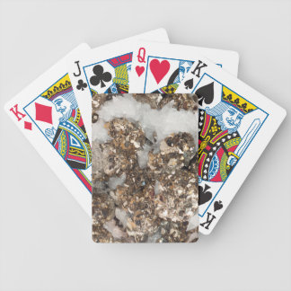 Pyrite and Quartz Bicycle Playing Cards
