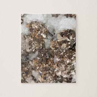Pyrite and Quartz Jigsaw Puzzle