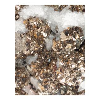 Pyrite and Quartz Letterhead