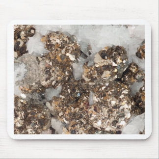 Pyrite and Quartz Mouse Pad