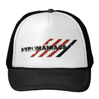 Pyromaniacs Trucker Cap (Black) Trucker Hats