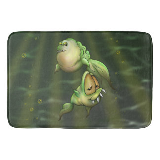 PYROS ALIENS MONSTERS Bath Mat LARGE