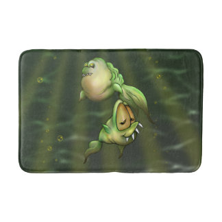 PYROS ALIENS MONSTERS Bath Mat MEDIUM