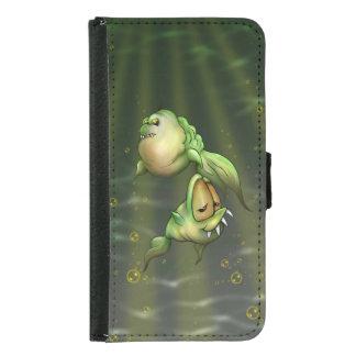 PYROS FISH ALIENS Galaxy S5 Wallet Case