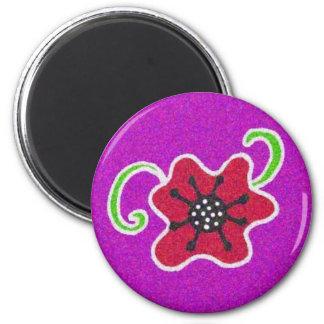 Pysanka Symbol: Poppy Magnet
