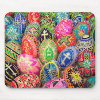Pysanky Egg Mouse Pad