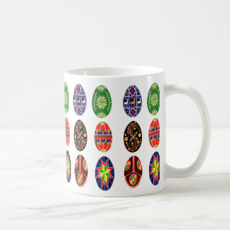 Pysanky Ukrainian Easter eggs Coffee Mug