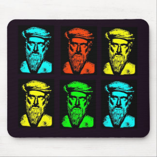 Pythagoras Collage Mouse Pads