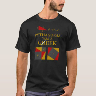 Pythagoras Was A Geek T-Shirt