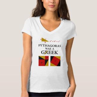 Pythagoras Was A Geek T-shirt