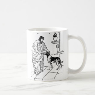 Pythagoras with Dog Coffee Mug