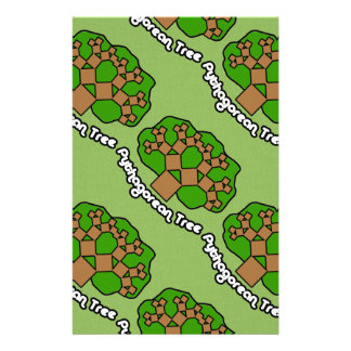 Pythagorean Tree Stationery