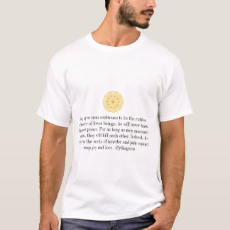 Pythagorus Animal Rights Quote T-Shirt