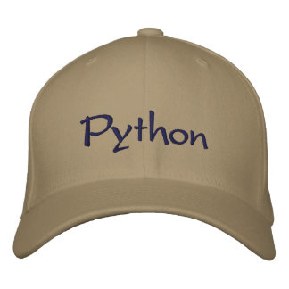Python Embroidered Hat