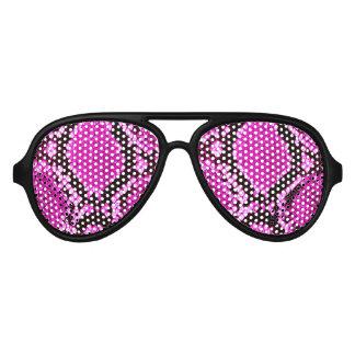 Python print Pink & Black Party Shades