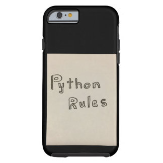 Python Rules iPhone Case