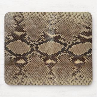 Python skin mouse pad