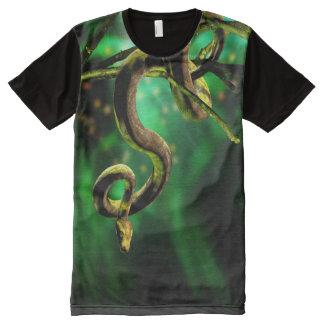 Python Snake All-Over Print T-Shirt