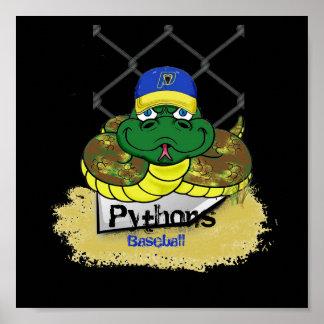 Pythons2 Baseball Poster