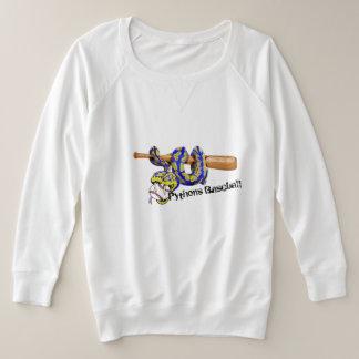 Pythons Baseball Plus Size Sweatshirt