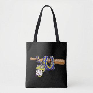 Pythons Baseball Tote Bag
