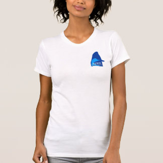 PZWD Womens T Shirt #2  Pocket Block and Full Back