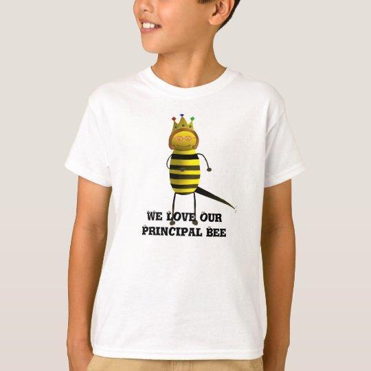 Q-B-1, We Love OurPrincipal Bee T-Shirt