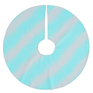 Q BRUSHED POLYESTER TREE SKIRT