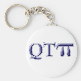 Q T Pi Keychain