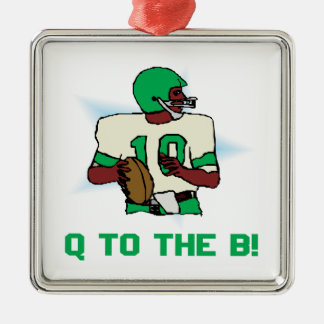 Q To The B Metal Ornament