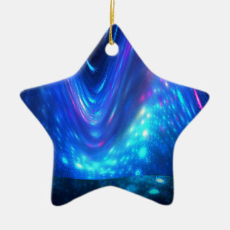 Qaanaaq - Northern Lights Ceramic Ornament