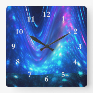 Qaanaaq - Northern Lights Wall Clocks