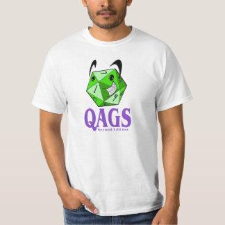 QAGS Happy D20 T-Shirt