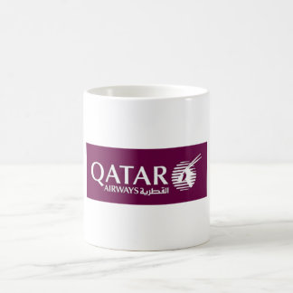 Qatar Airways mug
