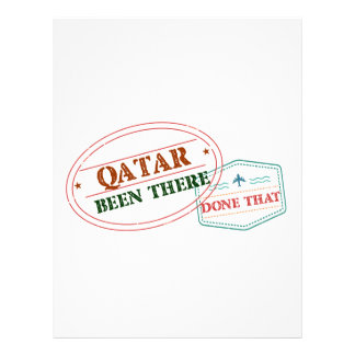Qatar Been There Done That Letterhead