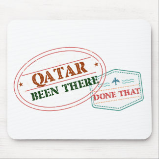 Qatar Been There Done That Mouse Pad