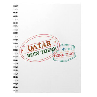 Qatar Been There Done That Notebook