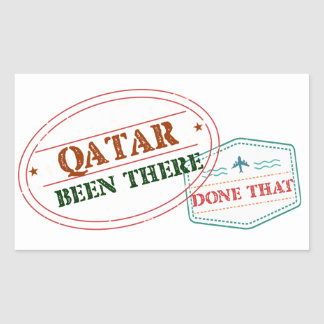 Qatar Been There Done That Sticker