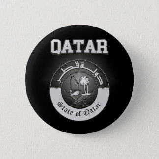 Qatar Coat of Arms 2 Inch Round Button