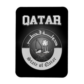 Qatar Coat of Arms Magnet