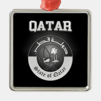 Qatar Coat of Arms Metal Ornament