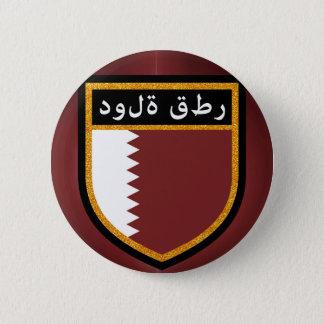 Qatar Flag 2 Inch Round Button