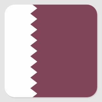 Qatar Flag Sticker