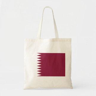 Qatar Flag Tote Bag