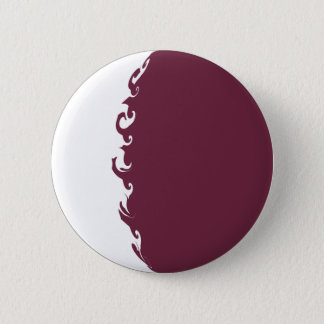 Qatar Gnarly Flag 2 Inch Round Button