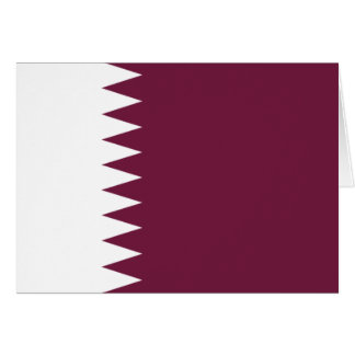 qatar greeting card