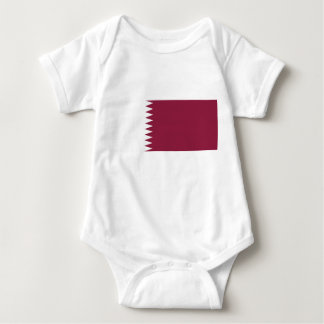 Qatar National World Flag Baby Bodysuit