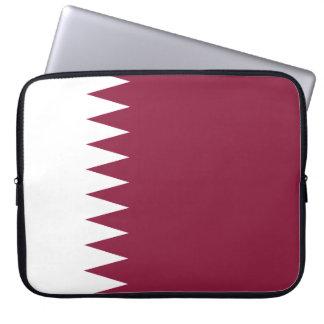 Qatar National World Flag Laptop Sleeve