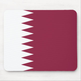 Qatar National World Flag Mouse Pad