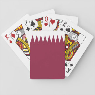 Qatar National World Flag Playing Cards